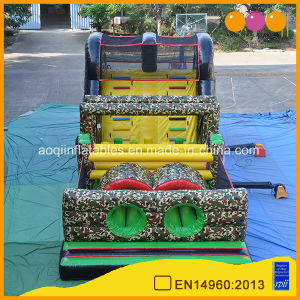 Camouflage Theme Inflatable Obstacle Course Challenge (AQ14221) pictures & photos