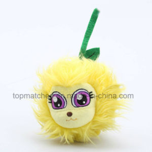 New Design Hot Selling Promotion Lovely Plush Ball Shape Toy with Embroidery pictures & photos