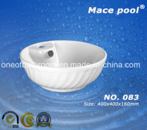 Bowl Type Wash Basin for Bathroom (083) pictures & photos