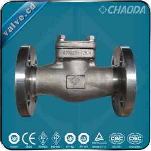 Cryogenic Forged Steel Check Valve pictures & photos