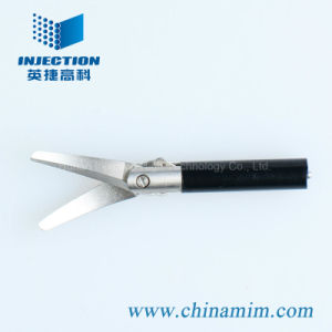 Medical Supply for Laparoscopic Instrument (MIM Curved Needle Holder) pictures & photos