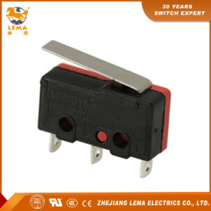 Lema 5A Black and Red Kw12-1 Micro Switch pictures & photos