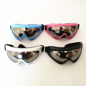 China Cheaper Motorcycle Ski Goggles/Snow Goggles (AG014) pictures & photos
