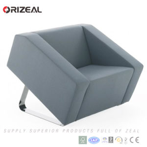 Orizeal Commercial Lime Green Office Leather Sofa Set (OZ-OSF016) pictures & photos