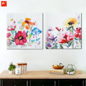 Watercolour Flowers Canvas Prints for Home pictures & photos