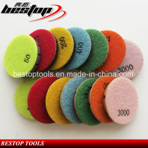 Diamond Floor Wet Polishing Pads for Austrial Market pictures & photos
