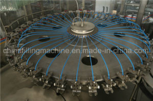 Automatic 3-in-1 Hot Juice Pet Bottle Filling Production Line with Ce pictures & photos
