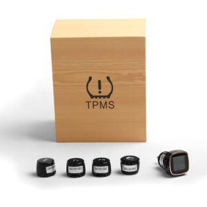Car Cigarette Lighter TPMS Tire Pressure Temperature Monitor System pictures & photos