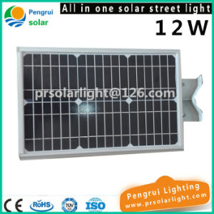 12W LED Solar Motion Sensor Energy Saving Outdoor Garden Street Light pictures & photos