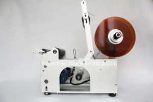 Semi-Auto Labeling Machine/Labeler for Round Bottle From China pictures & photos