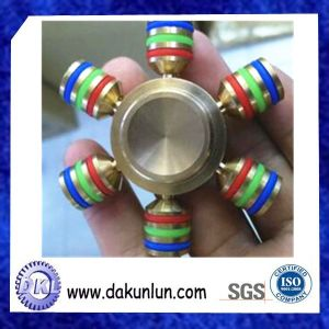 OEM Six Arm Fingertips Spinner Gyro Made of Brass