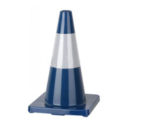18 Inch Colorful PVC Traffic Cone pictures & photos