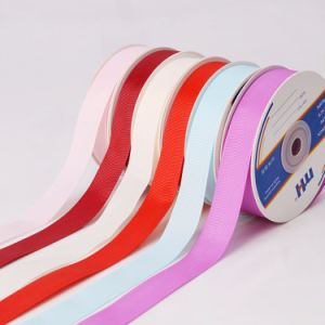 "3/4"" Polyester Grosgrain Ribbon pictures & photos"