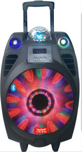 10 Inch Professional Party Speaker with Bluetooth Disco Laser Light Cx-10 pictures & photos