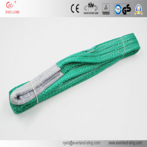 2 Ton Green Eye & Eye Webbing Sling for Safe Lifting with High Quality