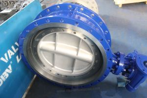 Worm Gear Operated Flanged Butterfly Valve