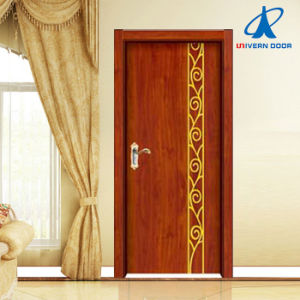 Simple Design Steel Wood Door pictures & photos
