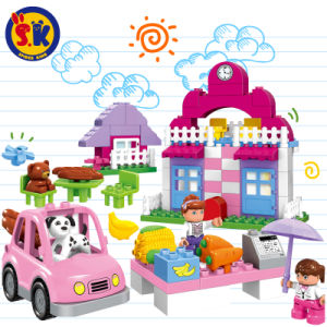 Happy Town Plastic Blocks Toy for Children pictures & photos