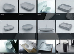 Resin Stone Customized Freestanding Bathroom Tub pictures & photos