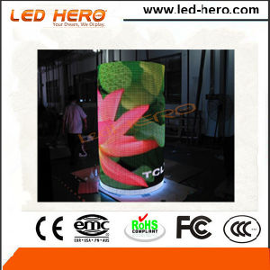 Easy Setup P10mm Transparent Indoor LED Display for Glass Wall pictures & photos