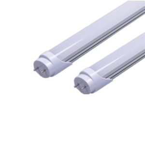 LED Tube Light Glass Plastic 18W T8 F4 High Quality pictures & photos