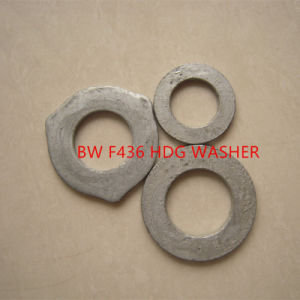 F436 M20 Carbon Steel Flat Washers pictures & photos