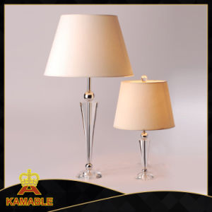 Modern Crystal Base with Fabric Shade Table Lamp (KATL1526) pictures & photos