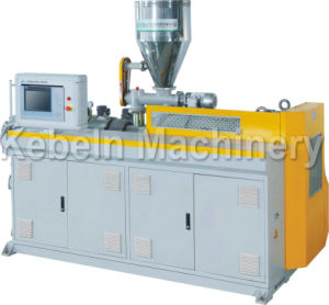 PVC Pipe Extruder/Conical Twin Screw Extruder pictures & photos