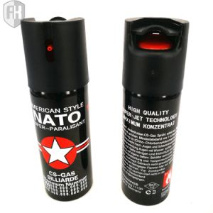 Colorful New Style 60ml Self-Defense Pepper Spray Nato pictures & photos