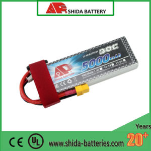 5000mAh 11.1V Ce Rechargeable Lithium Battery for Model Airplane pictures & photos