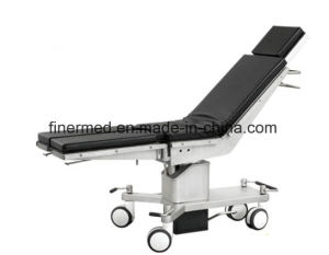 Mobile Medical Orthopedic Hydraulic Manual Operating Table pictures & photos