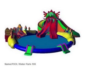 2017 New Outdoor Giant Inflatable Pool Water Park pictures & photos