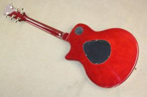 Hanhai Music/Semi-Hollow Red Electric Guitar (T5 classic) pictures & photos