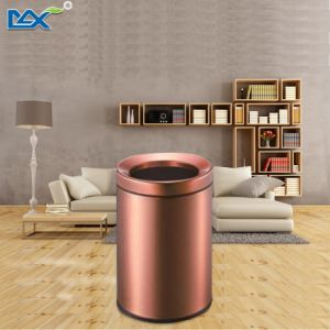 Good Quality Built-in Kitchen Cabinet Corner Anti-Fingerprint Oval Garbage Bin pictures & photos