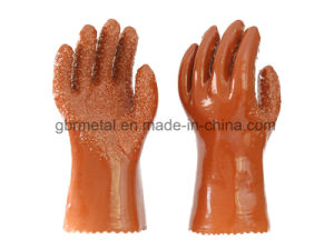 New Style PVC Non-Skid Gloves Work Gloves 988 pictures & photos