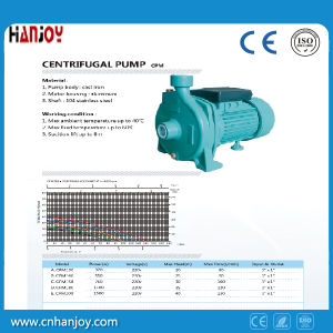 Self Priming Centrifugal Water Pump CPM pictures & photos