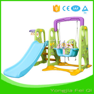 Indoor Mutifunction Playground Slide and Swing for Kid D Series pictures & photos