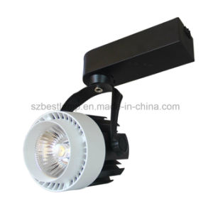 Bright Aluminum Dimmable COB Track Lighting Fixtures for Flagship Store pictures & photos