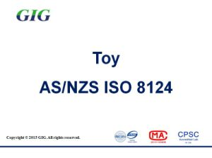 Australia/New Zealand Toy AS/NZS ISO8124 Test Service in China pictures & photos