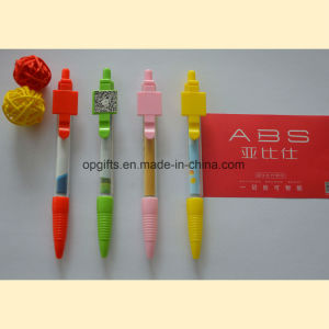 Promotion Pen with Roll Pull out Paper/ Banner Pen pictures & photos