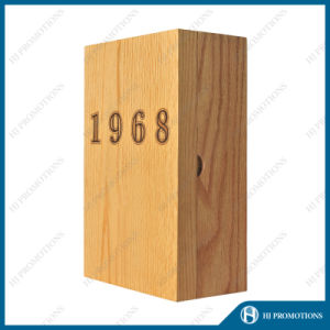 Wooden Box for Wine (HJ-PWSY01) pictures & photos
