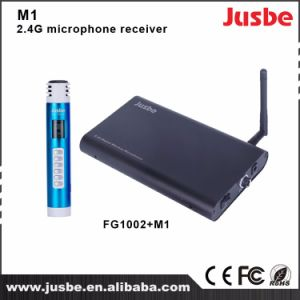 Cheap Price Classroom Use 2.4G Wireless Microphone Receiver M1 pictures & photos