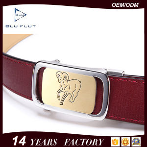 Customized Logo Genuine Cowhide Belt Men Leather Waist Belts pictures & photos