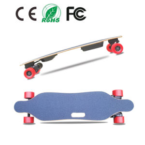 Factory Supply Belt Driven Dual Motor Four Wheels Electric Skateboard pictures & photos