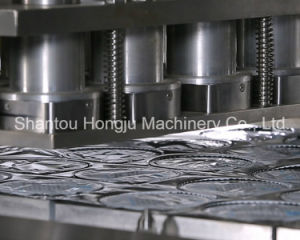 Fruit Yogurt Cup Filling and Film Sealing Machine pictures & photos
