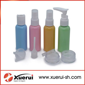 Cosmetic Plastic Bottles Travel Packing Sets with Box pictures & photos