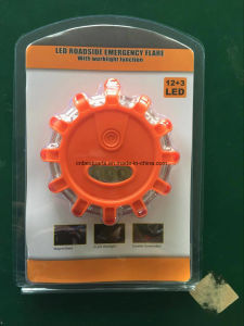 Mini Size 9 in 1 Power Flare Warning Light Safety Light Signal Light pictures & photos