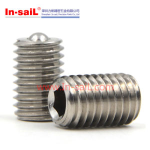 Stainless Steel Outer Threaded Spring Ball Plungers pictures & photos
