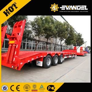 70ton 3axles Cimc Low Bed Semi Trailer Hot Sale Price pictures & photos