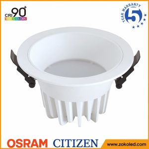CREE COB 7W Dimmable LED Downlight for Project